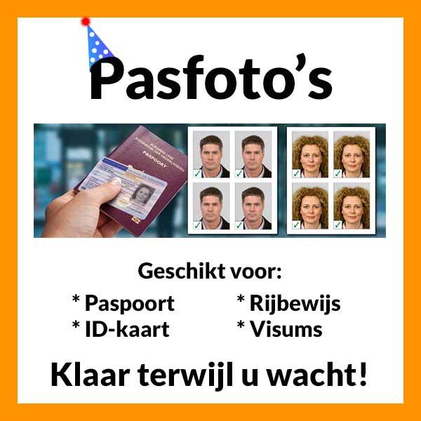 Pasfoto's laten maken