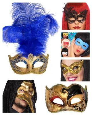 Maskers en venetiaans oogmasker